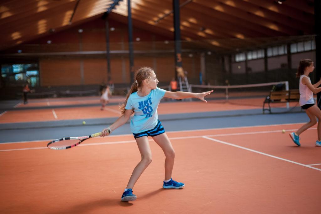 занятия теннисом для детей